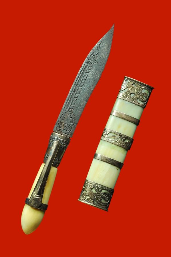 พระเครื่อง  มีดปากกา หลวงพ่อเดิม วัดหนองโพ 3 กษัตริย์ # 1 #